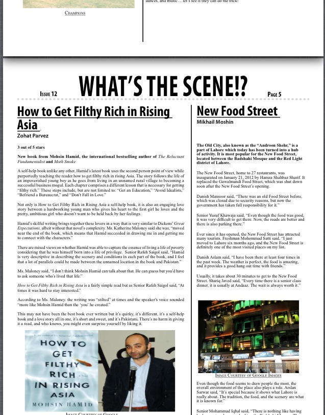 "Book Review: ""How to Get Filthy Rich in Rising Asia"" by Mohsin HAmid"